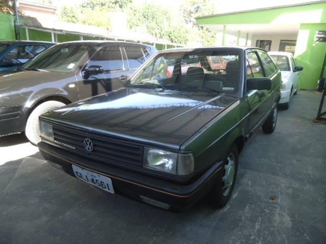 gol cinza 1989 - volkswagen